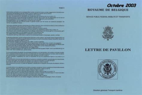 Demande De Lettre Pavillon Belge Homologation Du Pory Et Premiers Travaux De Menuiserie