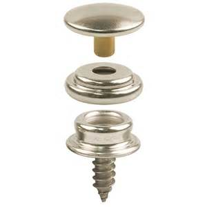dot 174 snap fastener cloth to surface set 3 8 quot stud