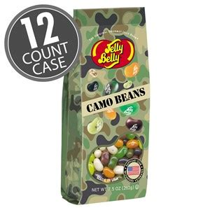 jelly bean bag count camo jelly beans 7 5 oz gift bag 12 count jelly
