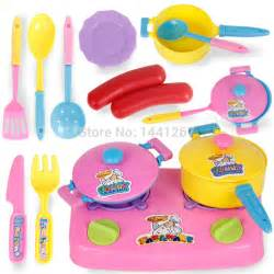 pretend play kitchen set children play house toys baby