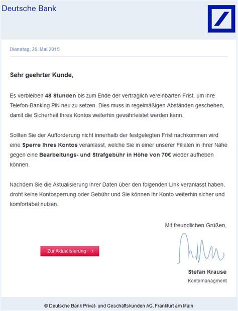 deutsche bank e mail adresse phishing mail alerts mai 2015
