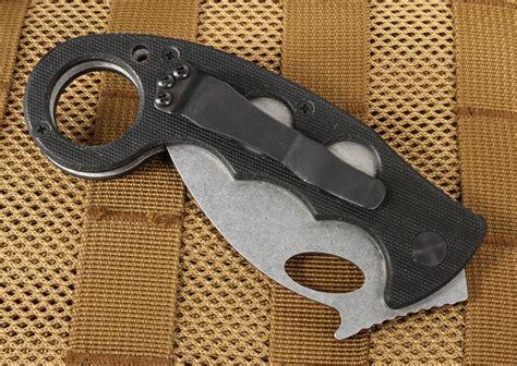 karambit folding knife emerson combat karambit sf tactical folding knife