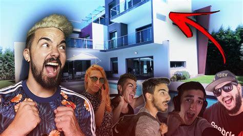 vai a casa grupo vski vai para a casa dos youtubers