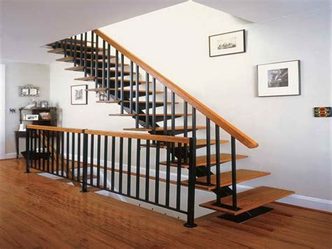 metal stair banister 17 best ideas about indoor stair railing on pinterest