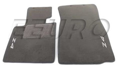 2004 Bmw Z4 Floor Mats by Genuine Bmw Floor Mat Set Gray W Z4 Logo 82110152600