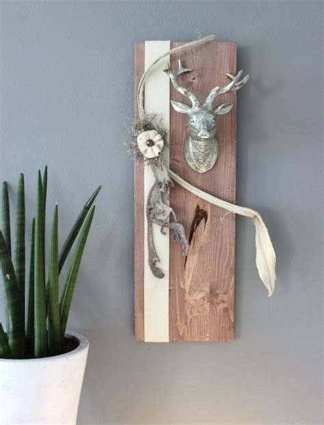 holz dekoration nat 252 rlich dekorieren wanddeko basteln mit holz