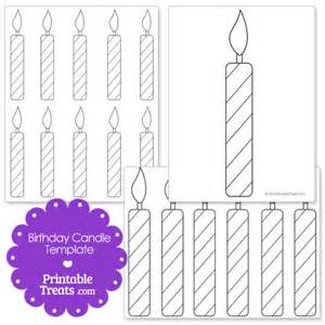 Candle Template by Printable Birthday Candle Shape Template Printable