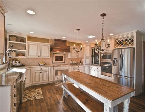 fabulous painted bisque maple cabinets with glaze wine