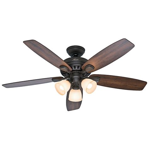 ceiling fan with light remote 52 quot new bronze ceiling fan with light remote