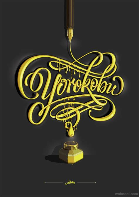 typography in 30 awesome and creative typographic designs and typography