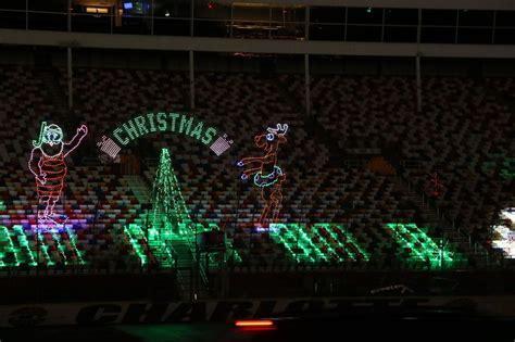 lee speedway christmas lights photo gallery fan info charlotte motor speedway