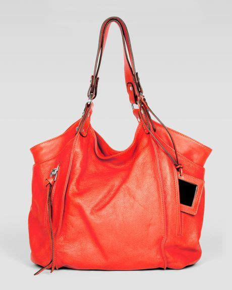 Neiman Sale Continues With Goods From Marc Kooba Tracy by Kooba Logan Leather Tote Bag In Orange Lyst