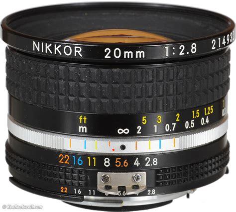 Nikon Af 20mm F 2 8d Lens nikon 20mm f 2 8 ai s
