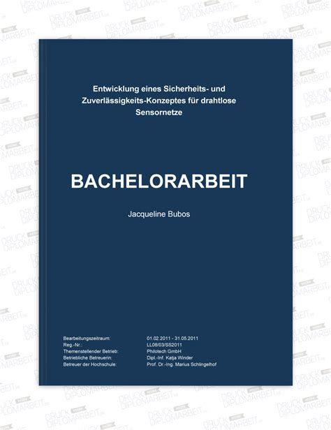 Word Vorlage Masterarbeit Bewertungen Und Fotos Druck Deine Diplomarbeit