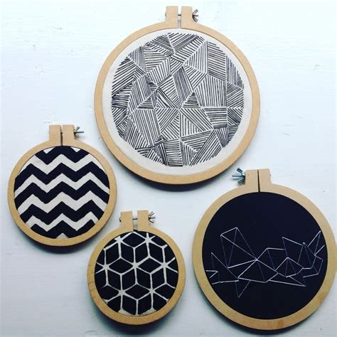 embroidery geometric best 25 geometric embroidery ideas on