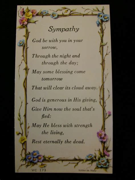 prayer of comfort for funeral prayer and sympathy quotes quotesgram