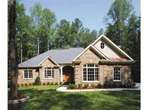 brick farmhouse plans brick house plans