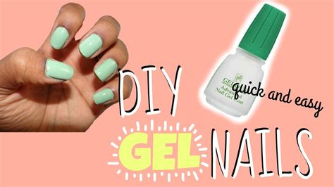 gel without light diy gel nails without uv light affordable easy