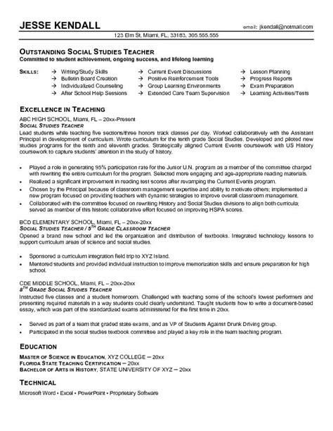 sle teachers resume resume sle kindergarten 19 images