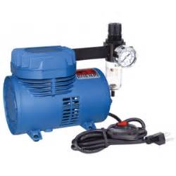 paasche d500sr air brush compressor with switch and regulator suitable for all airbrushes