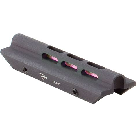 fiber optic bead sight trijicon trijidot shotgun fiber optic bead sight sh03 r b h