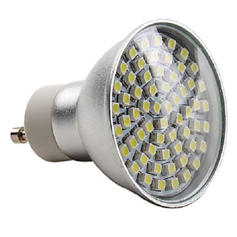 Gu10 Light Bulbs Led Led Gu10 3 Watt Energy Saving Spotlight Bulb White Light