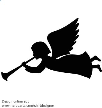 designing silhouettes of angels demo silhouette christmas angel free stock photos rgbstock