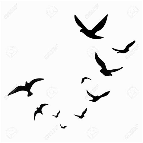 bird silhouette tattoo birds silhouette at getdrawings free for personal