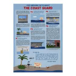 Stickers For Walls Quotes quot five awesome facts about the coast guard quot poster zazzle