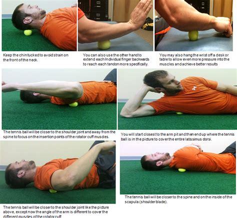 Myofascial Release Detox Symptoms by Shoulder плечи Self Myofascial Release With Tennis