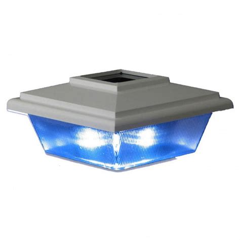 of light vinyl rdi 4 in x 4 in vinyl kindle solar light post cap