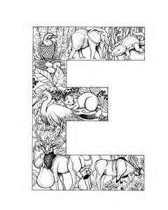 Animal Alphabet Letters Coloring Pages  GetColoringPagescom sketch template