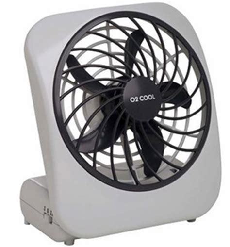 02 cool battery operated fan o2 cool 5 inch battery operated portable fan my cooling