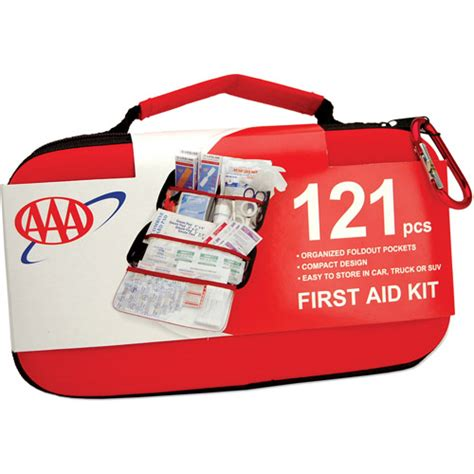 kit walmart aaa road trip aid kit 121pc walmart