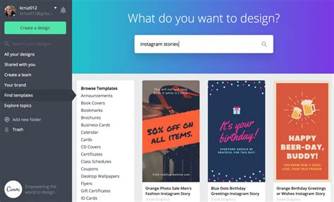 How To Make Instagram Stories Highlight Icons For Free Gen Y Girl Instagram Story Template Canva