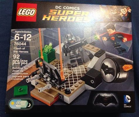 Lego Superman Vs Batman lego batman v superman clash of the heroes 76044 revealed