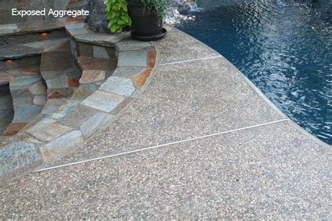 exposed aggregate   home pinterest exposed