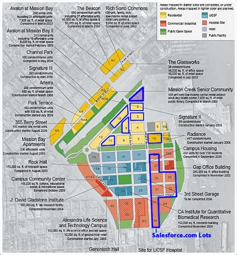 san francisco development map socketsite and then there was mission bay block one