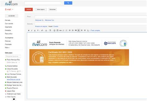 layout para email assinaturas de e mail em html paulo rezende