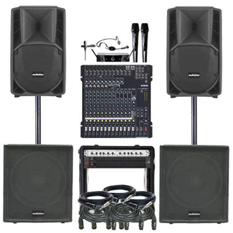 Paket Sound System Bmb Yamaha Mix Shure 15 Inch Berkualitas paket professional audio live paket sound system profesional indonesia