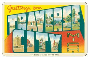 haircut coupons traverse city mi greetings from traverse city mi car magnet