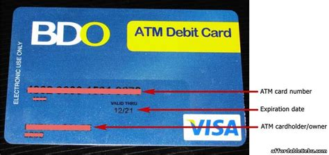 how to make atm card how many digits does bdo account number banking 29531