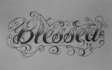 tattoo letters words the 25 best blessed tattoos ideas on pinterest girls