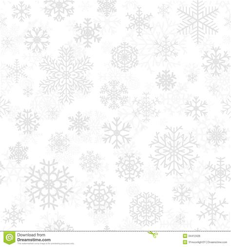 christmas pattern white background christmas seamless pattern from snowflakes royalty free