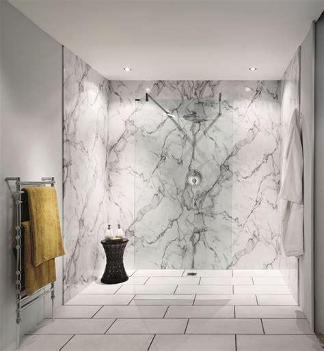 Shower Wall Boarding Panels by Bushboard Nuance Recess Shower Board Pack 2400mm Uk