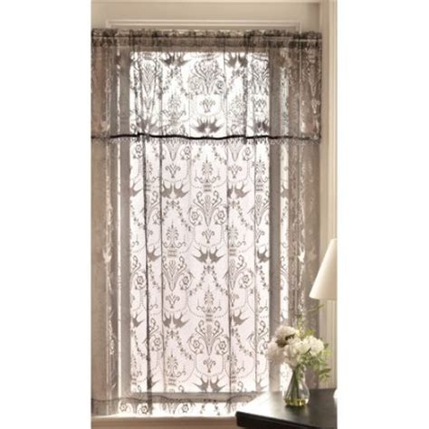 walmart lace curtains heritage lace duchess single curtain panel walmart com