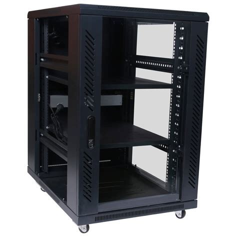 18RU 800mm Deep X 600mm Wide Rack Cabinet   HCC