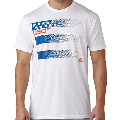 Tshirt Adidas Golf New adidas mens golf usa t shirts ebay