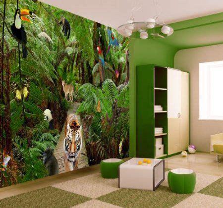 wallpaper for walls jungle jungle wallpaper mural amazon co uk diy tools walls