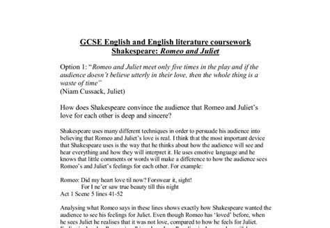 Multistate Essay Tips by Gcse Coursework Romeo And Juliet